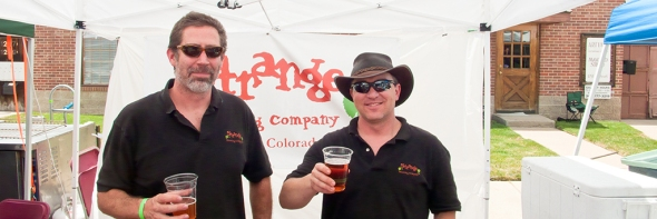 John & Tim of Strange Brewing at Blues & Brews 2010