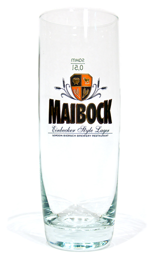 Gordon Biersch Maibock Glass