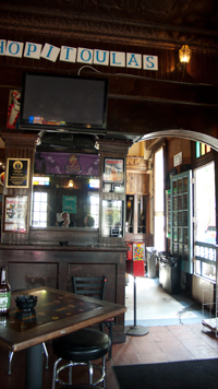 Interior of Avenue Pub