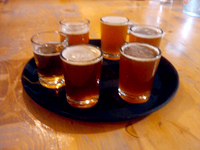 Palisade Brewing Company Tasters