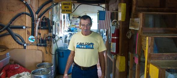 Andrew Hazen of Andrew's Brewing