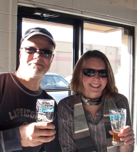 Greg & Heather at Wit's End Brewing