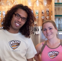 Ammon & Kysa of Pagosa Brewing Company