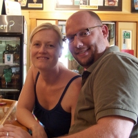 Amy & Mike - patrons at Pagosa Brewing Company