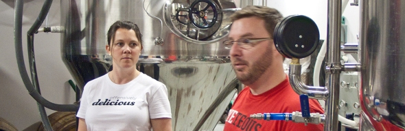 Khara & Brian O'Connell of Renegade Brewing